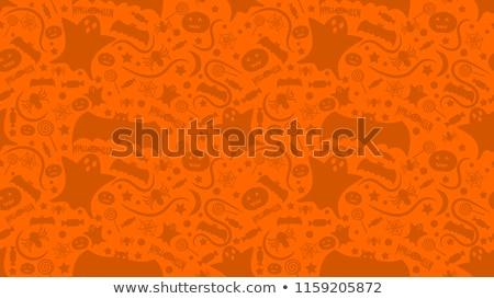 halloween · végtelenített · textúra · sütőtök · papír · természet - stock fotó © Glenofobiya