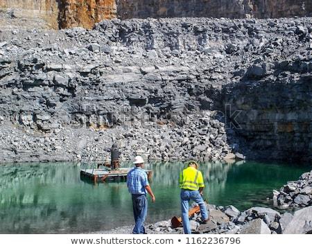 blast furnace slag aggregates stock photo © mady70