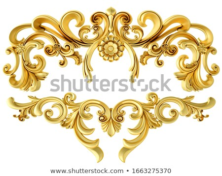 Acanthus Scroll Stock photo © HypnoCreative