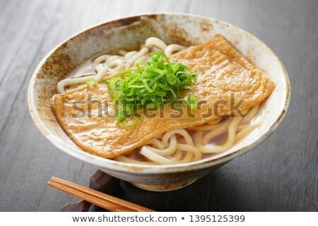 Kitsune udon noodles Stock photo © varts