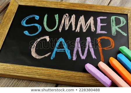 Summer Camp Stock photo © Lightsource