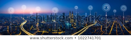 electrical network panorama Stock photo © thomaseder