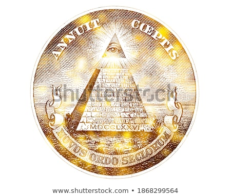 Golden Eye Financial Pyramid Stock photo © cteconsulting