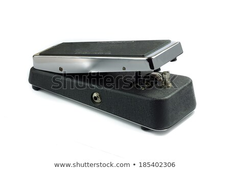 Wah Wah pedal, isolated on white Stock photo © diabluses