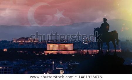 mozole · Ankara · mimari · mezar · Orta · Doğu · Türkiye - stok fotoğraf © emirkoo