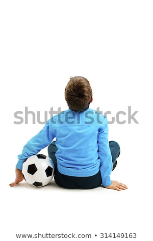 Nino jugando casa nino jeans Foto stock © bmonteny