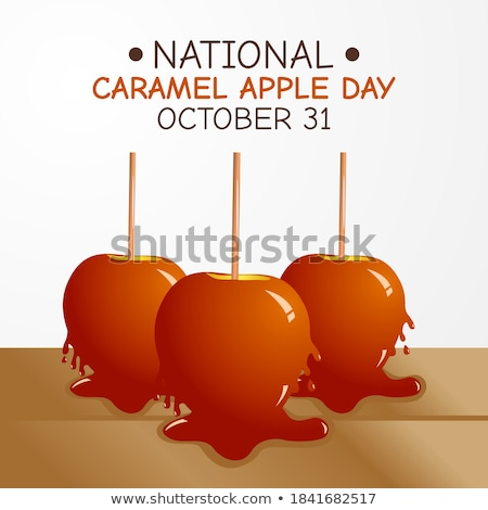 caramel apples and decoration Stock photo © M-studio