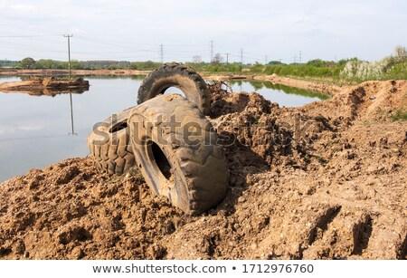 Scene at the gravel pit Stock photo © remik44992