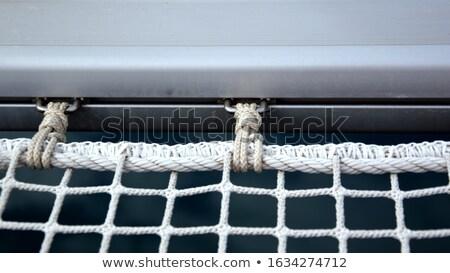 Catamaran rope tie detail Stock photo © smithore