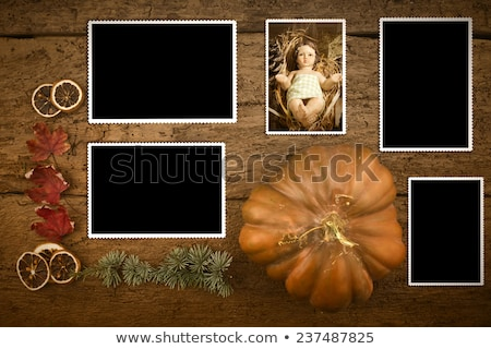 Baby Gesù quattro vuota foto fotogrammi Foto d'archivio © marimorena