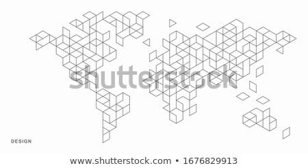 cube map stock photo © mayboro1964
