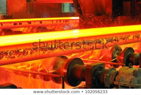 molten hot steel Stock photo © mady70