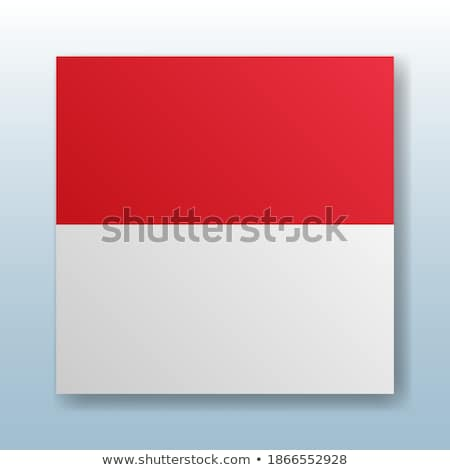 Botão símbolo Mônaco bandeira mapa branco Foto stock © mayboro1964