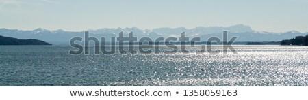 Ver céu casa esportes paisagem azul Foto stock © w20er