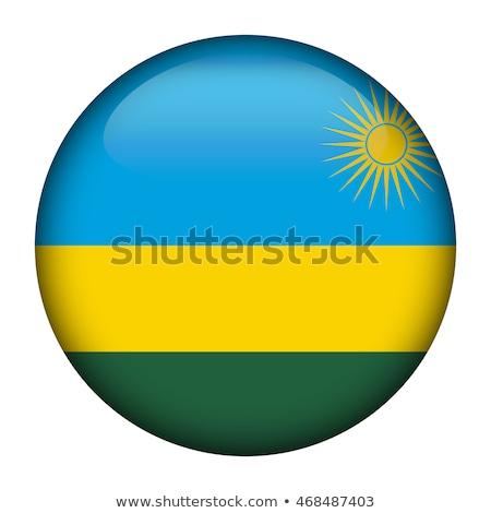 кнопки флаг Руанда металл стране отражение Сток-фото © MikhailMishchenko