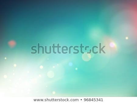 Korkak soyut dizayn kalp gökkuşağı Stok fotoğraf © oblachko