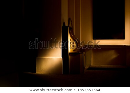 教会 ブース カトリック教徒 ヴィンテージ レトロな 効果 ストックフォト © stevanovicigor