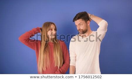 Young man holding hand of wrong girl Stock photo © wavebreak_media