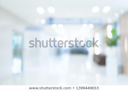 médico · escritório · ver · transparente · vidro · conselho - foto stock © HASLOO