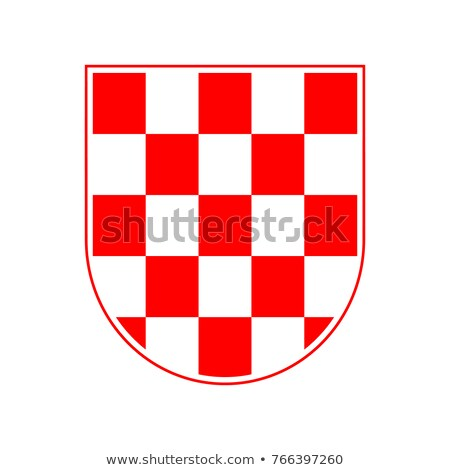 chess coat of arms vector illustration stock photo © carodi