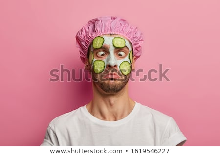 Young man skincare Stock photo © stokkete
