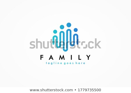 Trusted Link Blue Vector Icon Design Stock photo © rizwanali3d