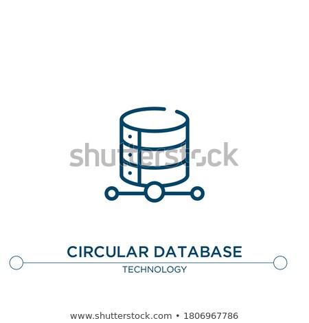 シールド ベクトル 青 ウェブのアイコン ボタン ストックフォト © rizwanali3d