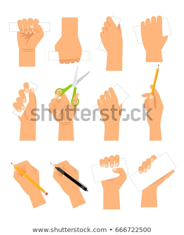 Icon Hand Grip Tool Stock photo © lenm