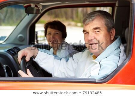 Сток-фото: автомобилей · окна · глаза · лице
