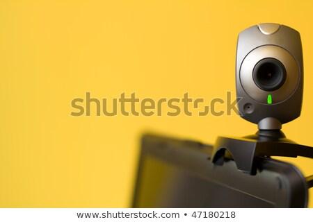 Web camera laptop staren business technologie Stockfoto © shutswis