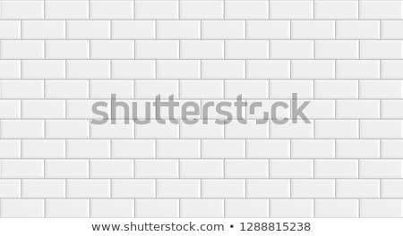 Blanche carrelage texture décoratif géométrique Photo stock © ExpressVectors