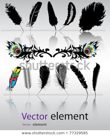 Veer vector formaat abstract liefde ontwerp Stockfoto © piccola