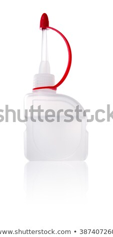 oil bottle isolated on white backgriund stock photo © leonardi