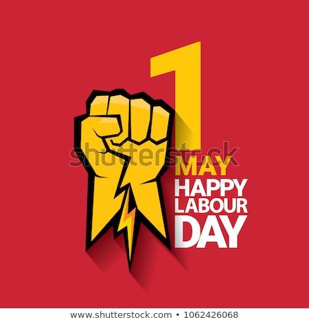 Stockfoto: Labour Day Emblem