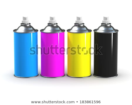 CMYK spray cans Stock photo © zsooofija