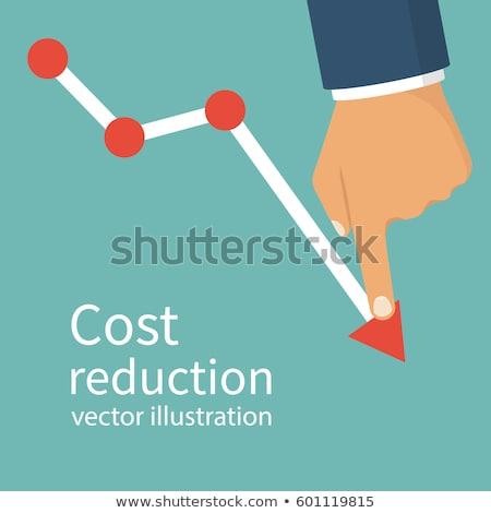 Oszczędności spadać zaniedbany inwestycja działalności symbol Zdjęcia stock © Lightsource