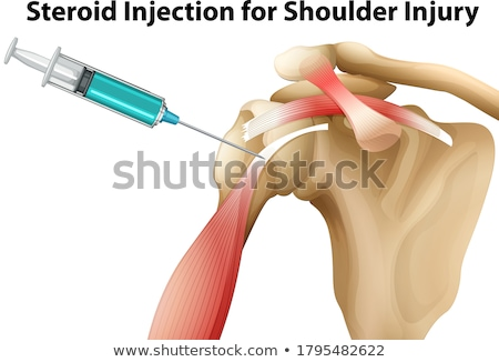 Injecting Steroids Stock photo © MilanMarkovic78