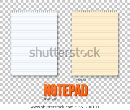 text on notepad  stock photo © fuzzbones0
