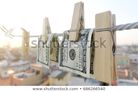 Para yıkama Stok fotoğraf © denisgo