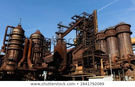 Old abandoned furnace Stock photo © Fotografiche