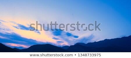 пейзаж · мнение · гор · Черногория · облака · природы - Сток-фото © maxpro