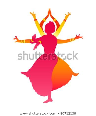 Goddess Indian dance Stock photo © adrenalina