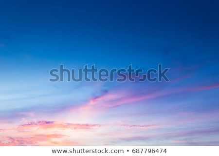 Wonderful colors of the evening sky. Stock photo © justinb