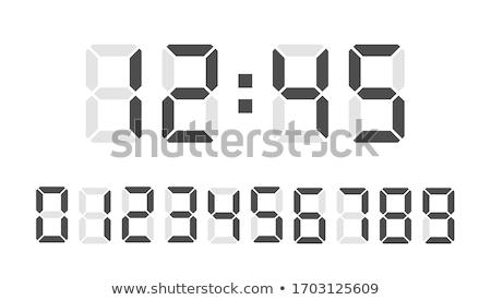 цифровой числа восемь проверить портфеля Сток-фото © orson