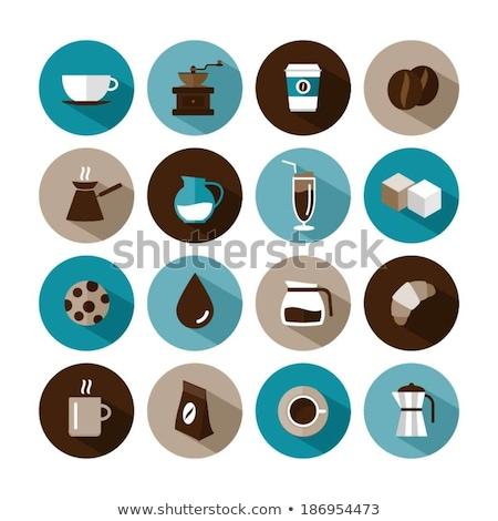 Sugar Cubes Vector Illustration in Flat Design Stock photo © robuart