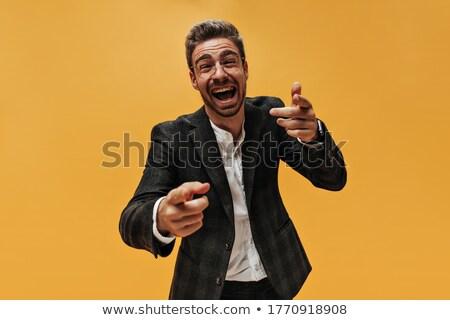 fiatalember · zsebkendő · kéz · gyógyszer · fiú · személy - stock fotó © feedough