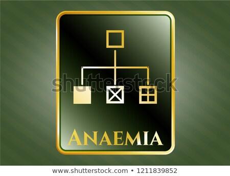 Anemia Anaemia Concept Diagram Stock photo © Lightsource
