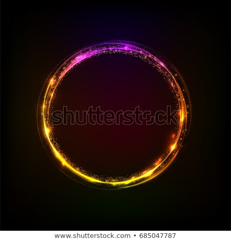 Résumé fond bleu spirale vecteur Photo stock © fresh_5265954
