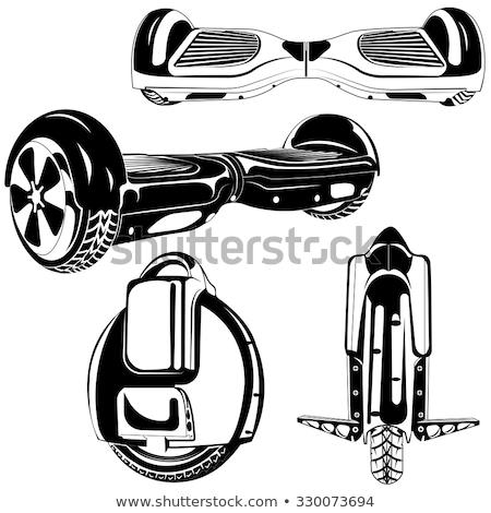 Tekerlek ikon dizayn eps şehir Stok fotoğraf © sdCrea