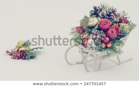 karácsony · ajándékok · ajándékdobozok · vektor · csomagok · dekoratív - stock fotó © robuart